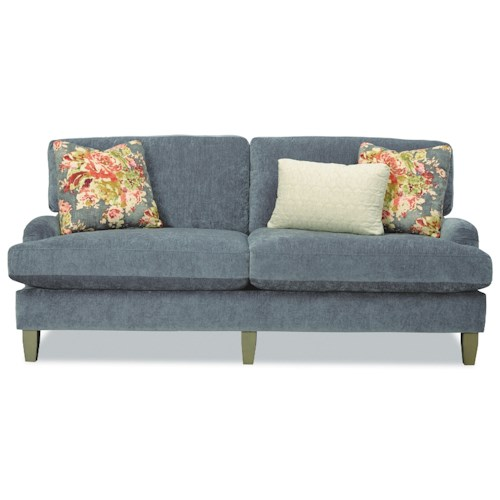 seat apartment size sofa with english arms belfort furniture sofas