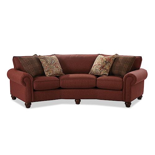 Craftmaster C9 Custom Collection Customizable Conversation Sofa Bullard Furniture