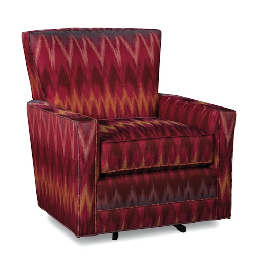 Craftmaster swivel chairs swivel chair belfort furniture for Swivel chairs living room upholstered