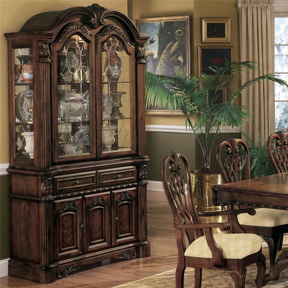 Crown Mark Brussels Buffet And Hutch Royal Furniture
