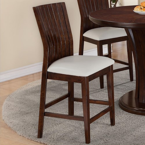 Crown Mark Daria 2734s 24 Wh Dining Bar Stool Del Sol Furniture Bar Stools Phoenix Glendale