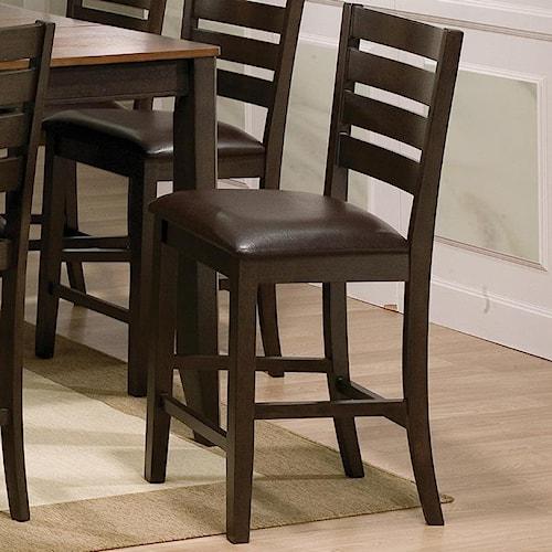 Crown Mark Elliott 2728s 24 Counter Height Chair Del Sol Furniture Bar Stool Phoenix