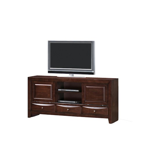 Crown mark emily tv stand ivan smith furniture tv stands for Ivan smith furniture