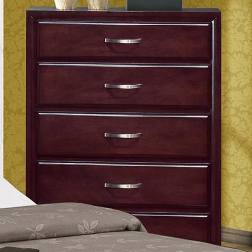 Crown Mark Vera B6150 4 5 Drawer Chest Del Sol Furniture Chest Of Drawers Phoenix Glendale