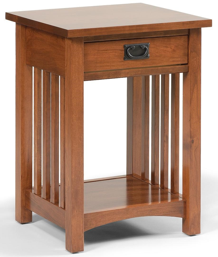 Daniel s Amish Amish Mission Mission Style Open Nightstand
