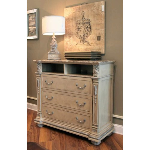 Davis Direct Monaco Media Chest Great American Home Store Media Chests