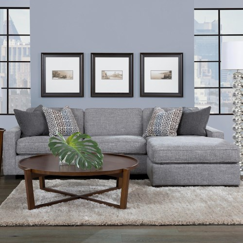 "Decor-Rest 2591 102"" Chaise Sofa"