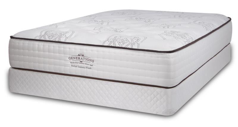 Diamond Mattress Generations Relief Queen Luxury Plush