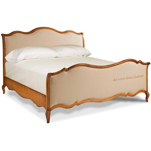 European Heritage By Wood Mode: Drexel Heritage® European Market King Ciney Panel Bed