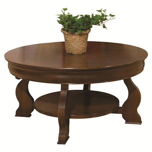 Jordan S Furniture Coffee Table Sets: Durham Occasional Tables Durham Louis Phillipe Round