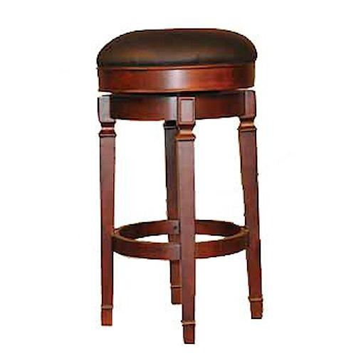 E C I Furniture Bar Stools Backless Upholstered Bar Stool Mueller Furniture Bar Stool St