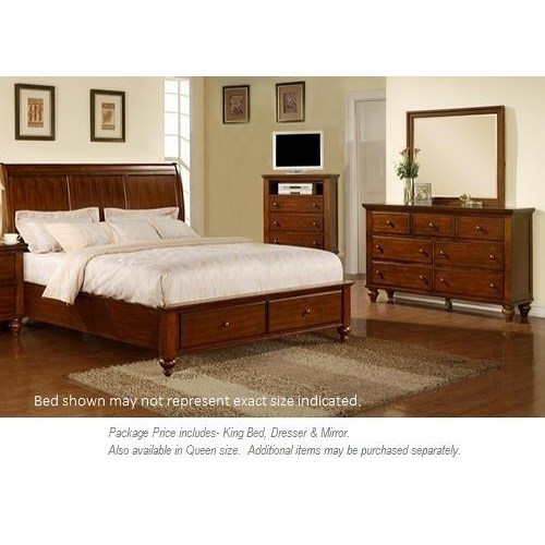 elements international chatham 3pc king bedroom miskelly