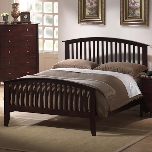 Metalindo twin slatted headboard and footboard bed dream for Twin footboard