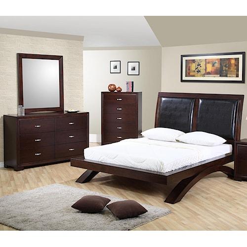 Raven Queen Bedroom Group Dream Home Furniture Bedroom