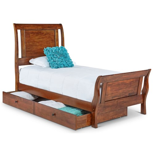 home bedroom furniture sleigh beds elements international tucson twin