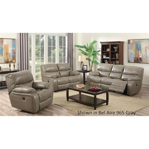 Vino Power Reclining Living Room Group Dream Home Furniture Reclining Liv