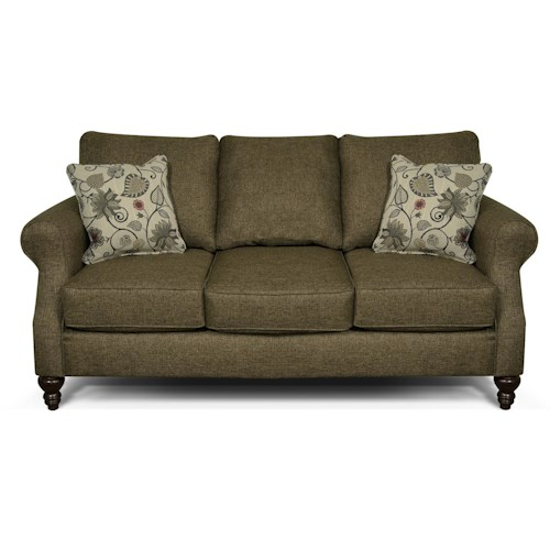 England Brinson And Jones Small Scale Sofa With Three Seats Dunk Bright Furniture Sofa