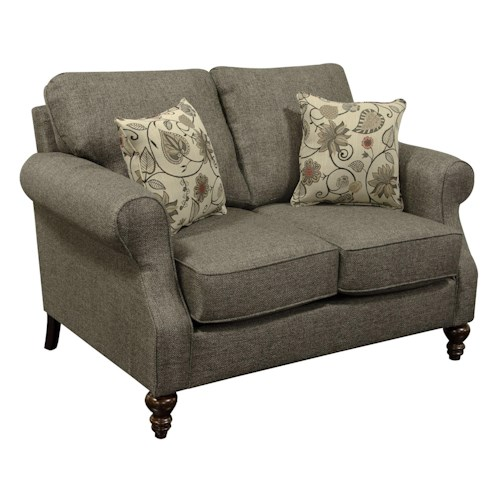England Brinson And Jones Small Scale Loveseat Boulevard Home Furnishings Love Seat