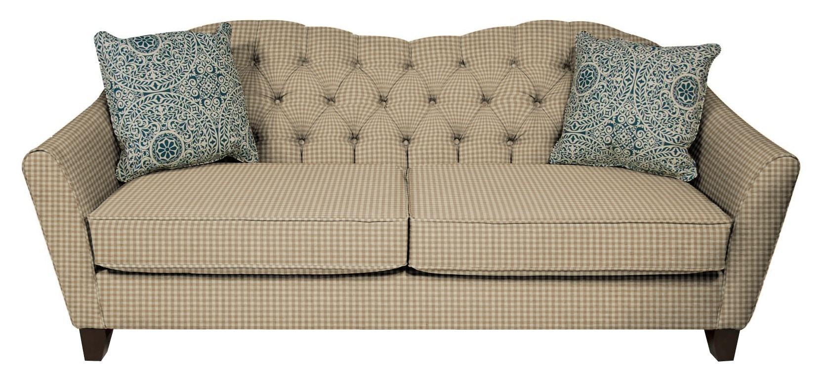 England Easton 2X00 Cottage Style Sofa with Tufted Back