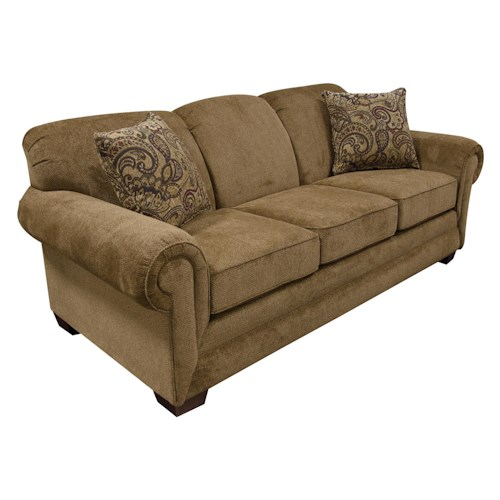 England Monroe Three Seat Sofa Pilgrim Furniture City Sofa