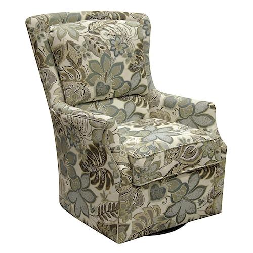 England Loren Swivel Chair Dunk Amp Bright Furniture