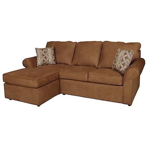 England Malibu 3 Seat left Side Chaise Sofa Suburban