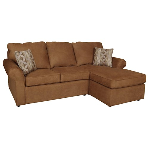 England malibu 3 seat right side chaise sofa suburban for 3 seat sofa with chaise