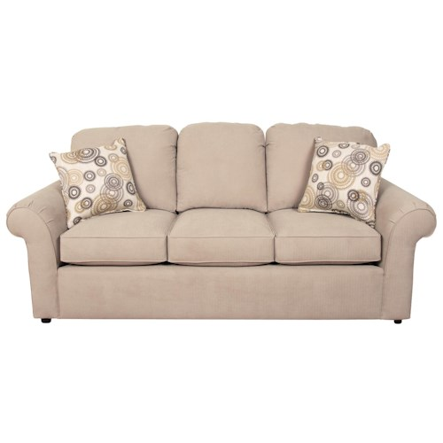 England Malibu Casual Styled Sofa For Family Rooms And Living Rooms Prime Brothers Furniture