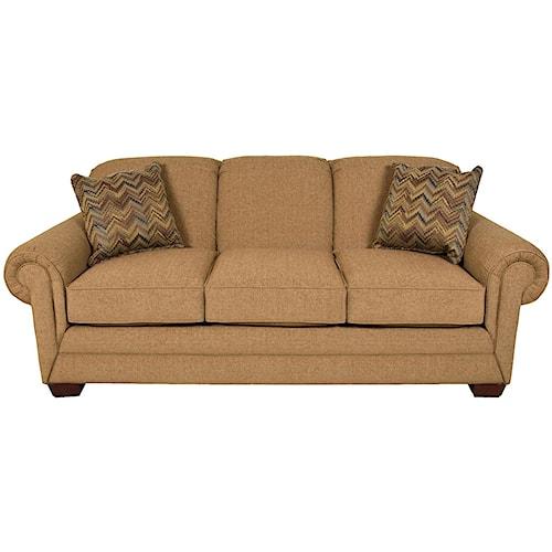 England Monroe Traditional Stationary Sofa Pilgrim