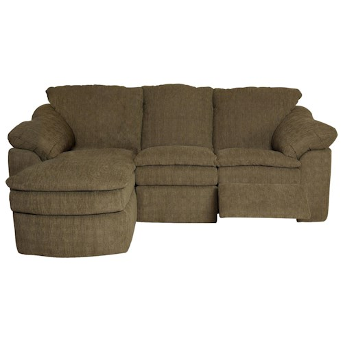 England seneca falls small and compact three piece for 3 piece small sectional sofa