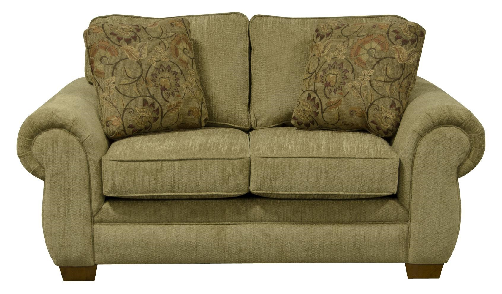 England Walters Loveseat with Traditional Style Pilgrim
