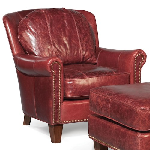 Fairfield Chairs Lounge Chair With Rolled Arms Belfort Furniture Upholstered Chairs