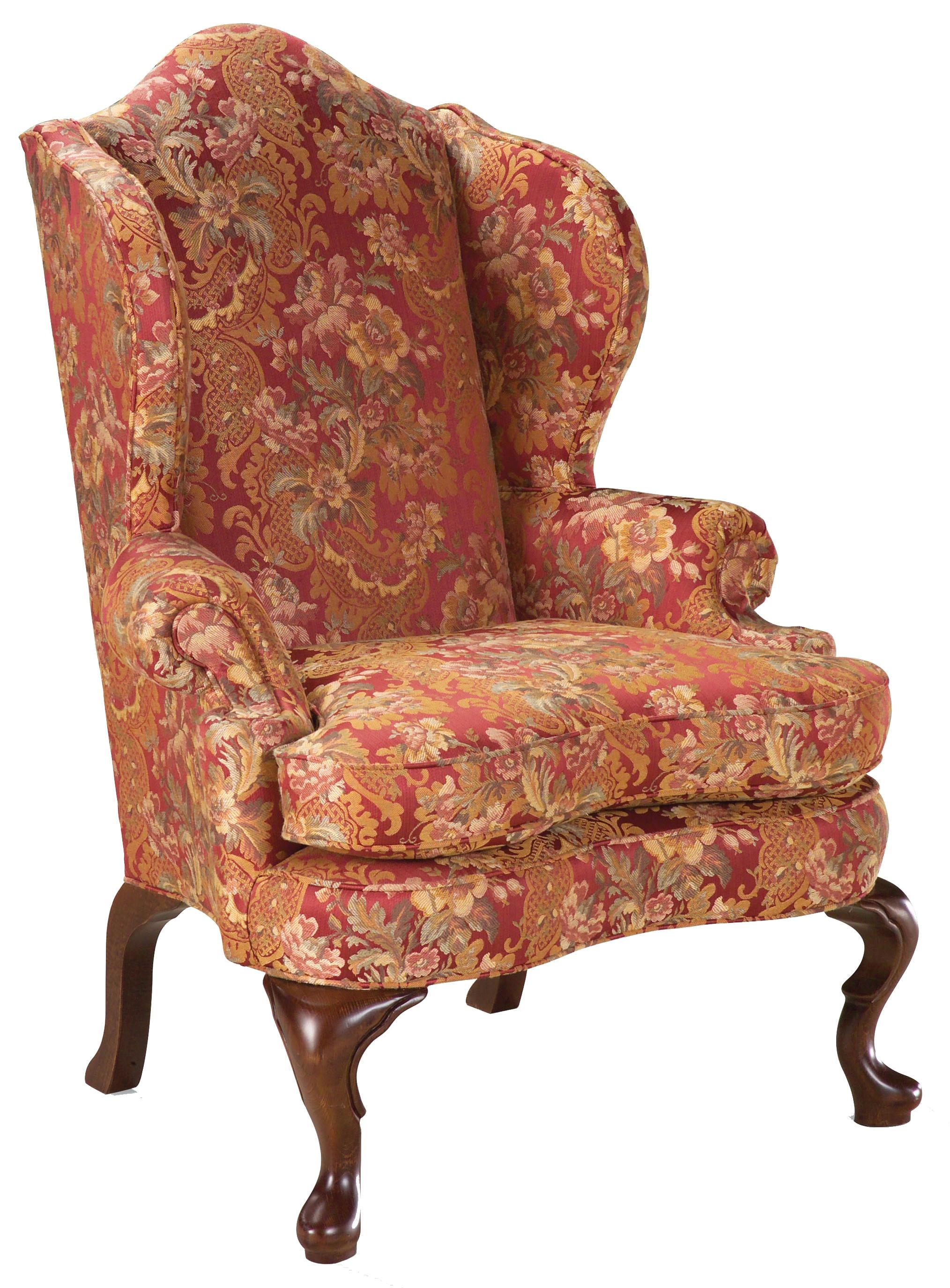 Fairfield Chairs High Back Wing Chair in the Traditional