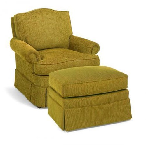 Fairfield 1454 Upholstered Lounge Chair Belfort Furniture Upholstered Chair
