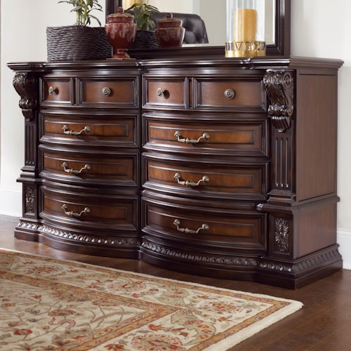 Fairmont Designs Grand Estates Dresser W 8 Drawers Michael 39 S Furniture Warehouse Dresser