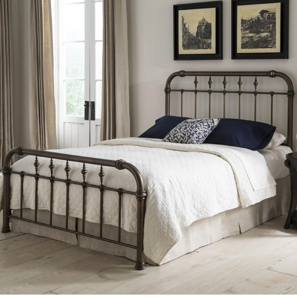 Fashion Bed Group Vienna King Bed Without Frame : Hudsonu0026#39;s Furniture : Headboard u0026 Footboard ...