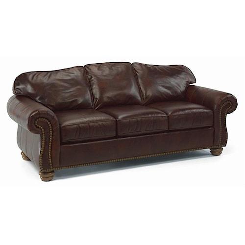 Flexsteel Westside Sofa Reviews: Flexsteel Bexley Traditional Sofa With Nail Head Trim