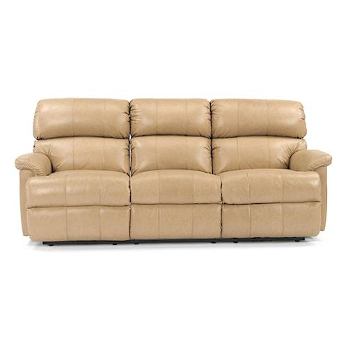 Flexsteel Chicago 87 Chicago Double Reclining Sofa Olinde 39 S Furniture Reclining Sofas
