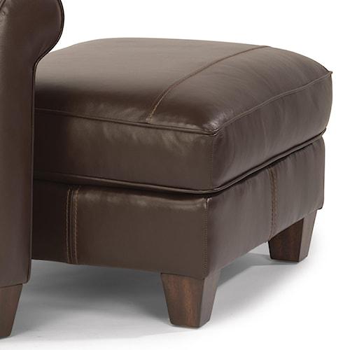 Flexsteel Dana Upholstered Ottoman Belfort Furniture