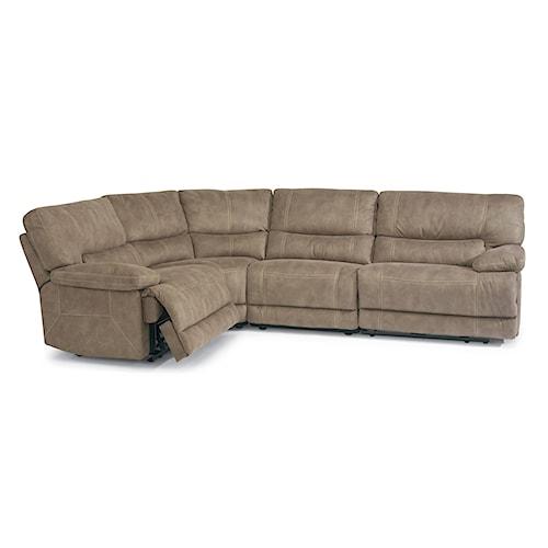 Flexsteel Latitudes Delia Power Reclining Sectional Sofa
