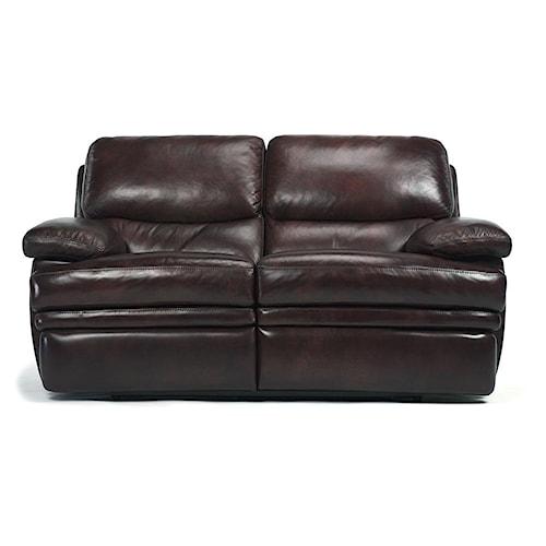 Flexsteel Latitudes Dylan Leather Reclining Love Seat