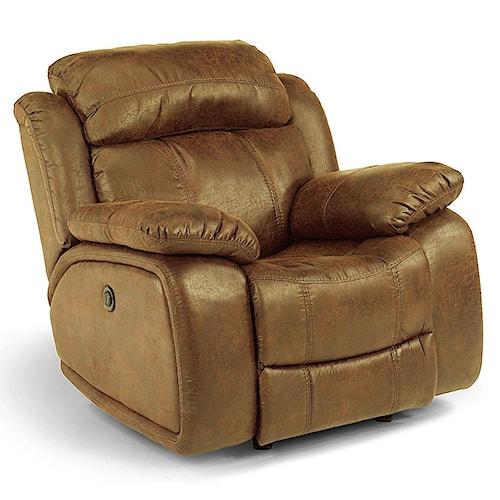 Flexsteel Furniture Uk: Flexsteel Latitudes-Como Power Glider Recliner