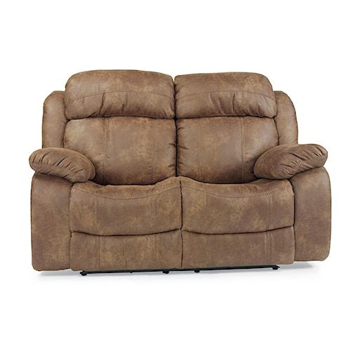 Flexsteel Furniture Uk: Flexsteel Latitudes-Como Dual Reclining Loveseat