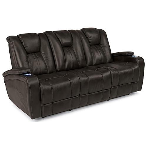 Ashley Furniture Killeen Texas: Flexsteel Latitudes-Trinidad Power Adjustable Headrest