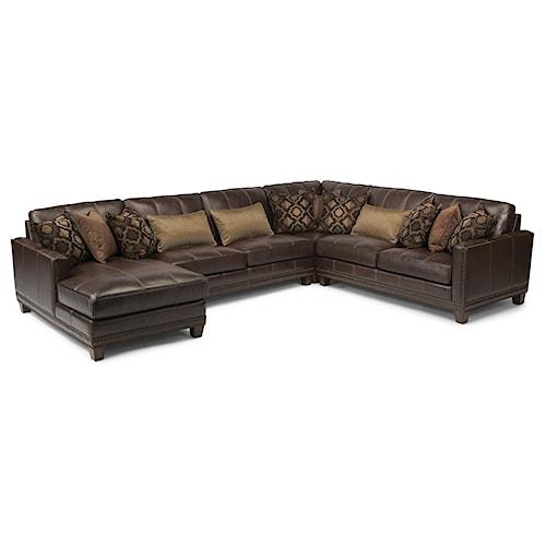 Flexsteel Latitudes Port Royal 4 Pc Sectional Sofa