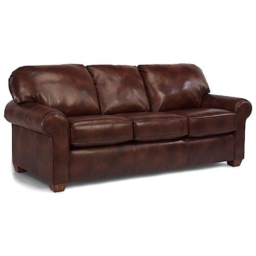 Flexsteel Thornton Stationary Upholstered Sofa Rotmans