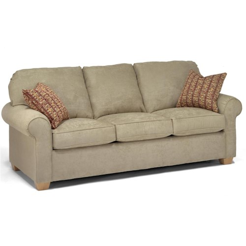 Flexsteel Thornton Queen Sleeper Sofa Wayside Furniture