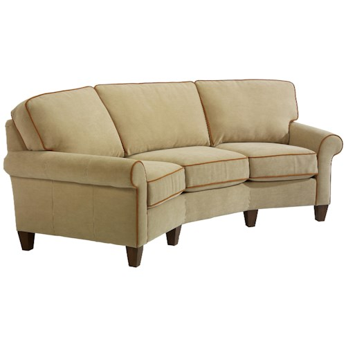 Flexsteel westside casual conversation sofa dunk for Conversation sofa