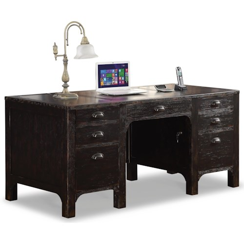 Flexsteel wynwood collection homestead rustic executive for City furniture in homestead