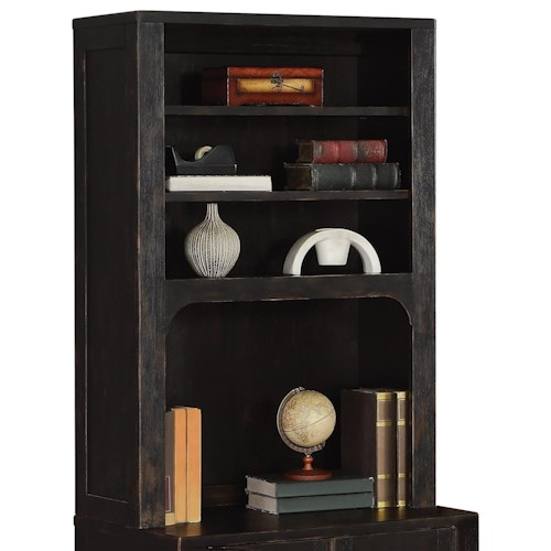 Flexsteel wynwood collection homestead rustic bookcase for Homestead furniture and appliances